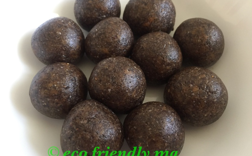 DIY seasame n jaggery health bombs