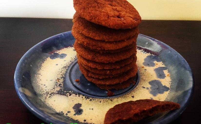 DIY whole wheat 🌾 n jaggery crispy veg cookies 🍪