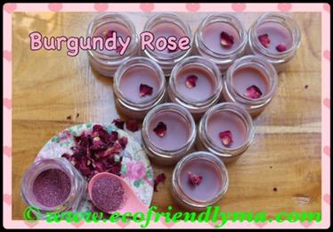 DIY Burgundy Rose 🌹 all-natural lip balm