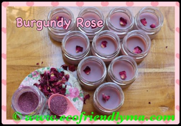 DIY Burgundy Rose 🌹 all-natural lip balm
