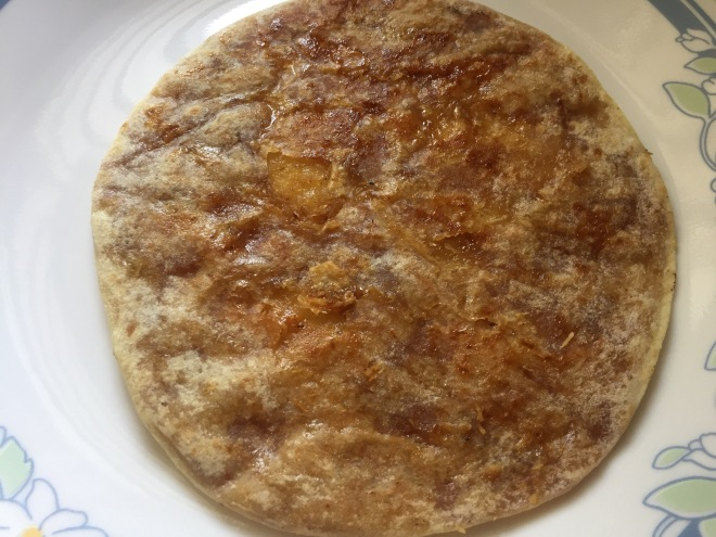 Homemade puran poli or bobatlu or holige