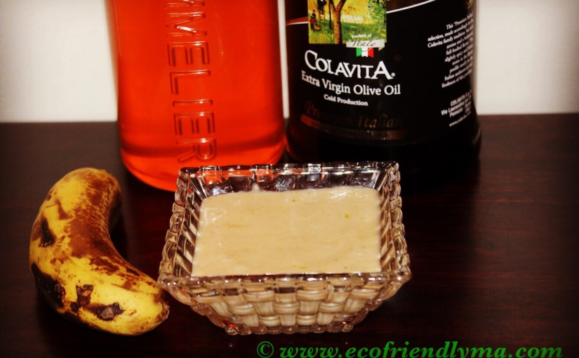 DIY all-natural pre-wash nourishing hair conditioner