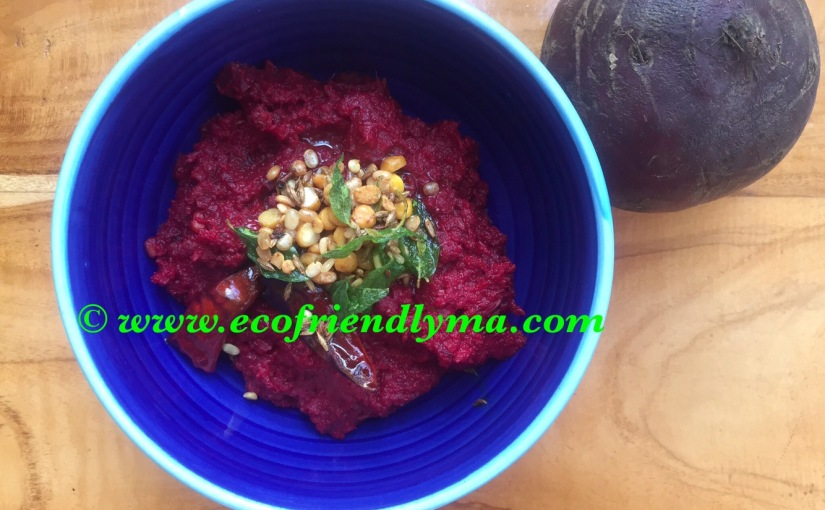 homemade beetroot chutney recipe