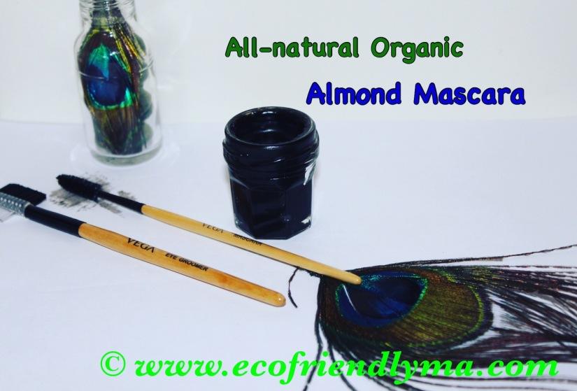 All-natural Organic Almond n Castor OilMascara