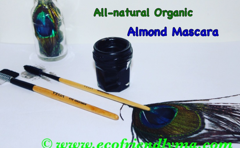 All-natural Organic Almond n Castor Oil Mascara