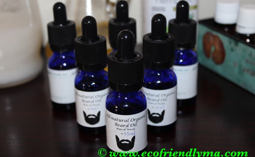 DIY all-natural organic Beard oil – Man of Woods