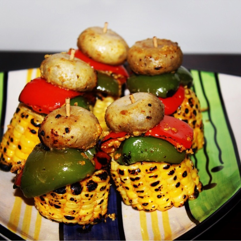 homemade veg bbq recipe